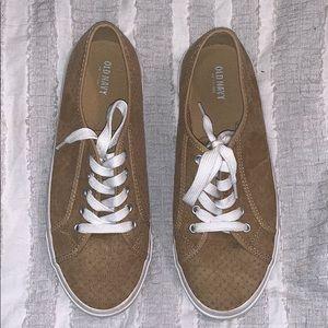 Old Navy Suede Sneakers